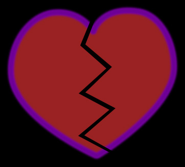 picture of a broken heart